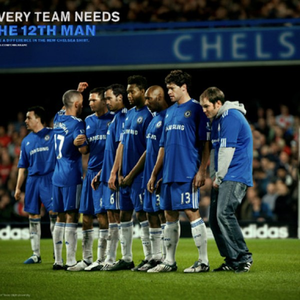 adidas football: chelsea 12th man