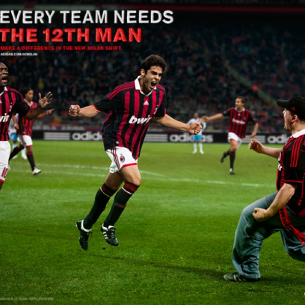 adidas football: ac milan 12th man