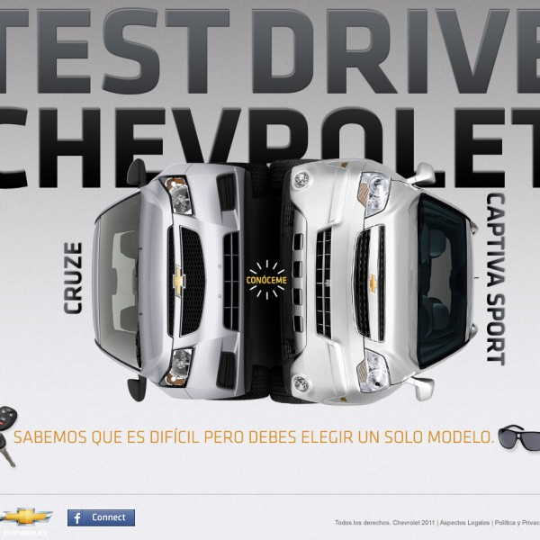 cheverolet test drive